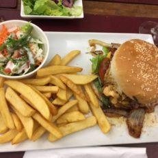Hamburger mouscron Les Tables de Breughel